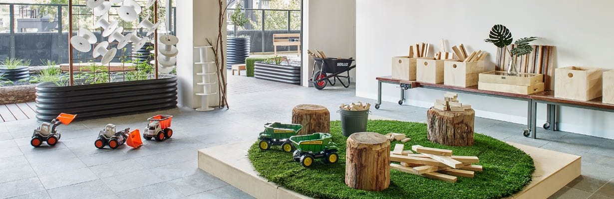 Play area at Guardian South Yarra