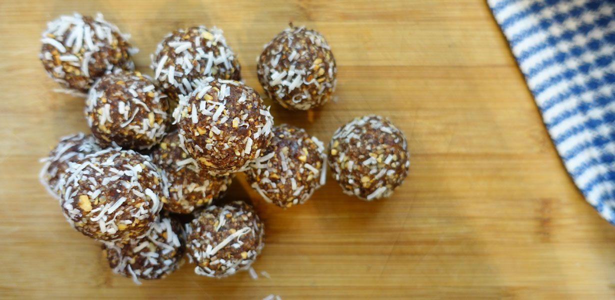 Bliss balls recipe