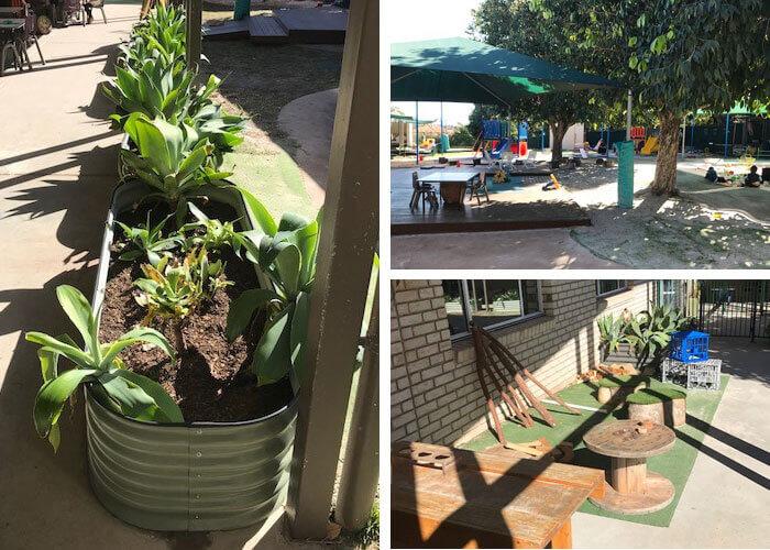Guardian Early Learning Lizards new garden