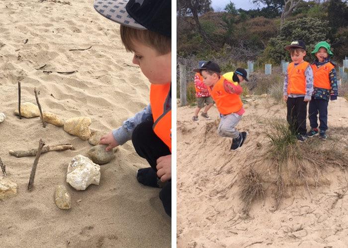 Beach Kinder experience at Guardian Torquay