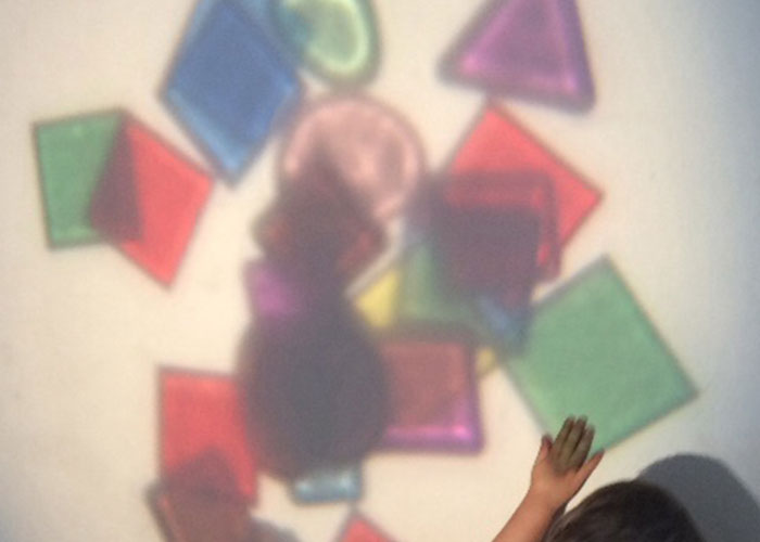 Caringbah early learning centre light exploration