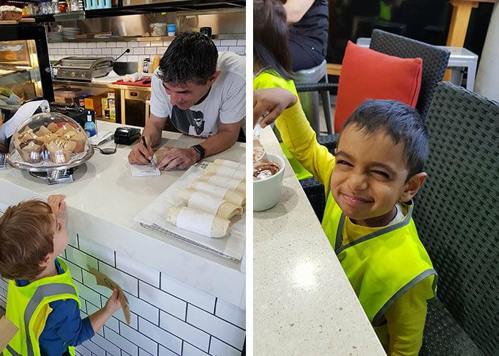 Guardian Marrickville cafe visit