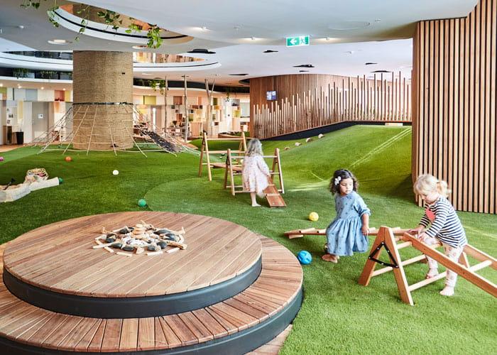 Guardian Barangaroo's interior spaces