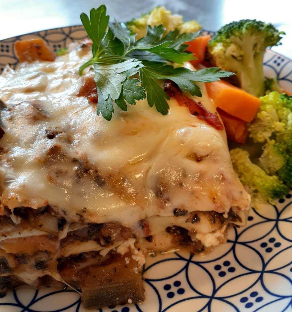 Richard's vegetarian lasagne recipe