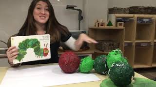 Paint the Story – The Very Hungry Caterpillar Guardian Learning Exchange