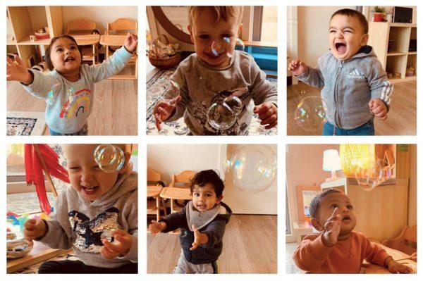 The Joy of Bubbles Guardian Childcare